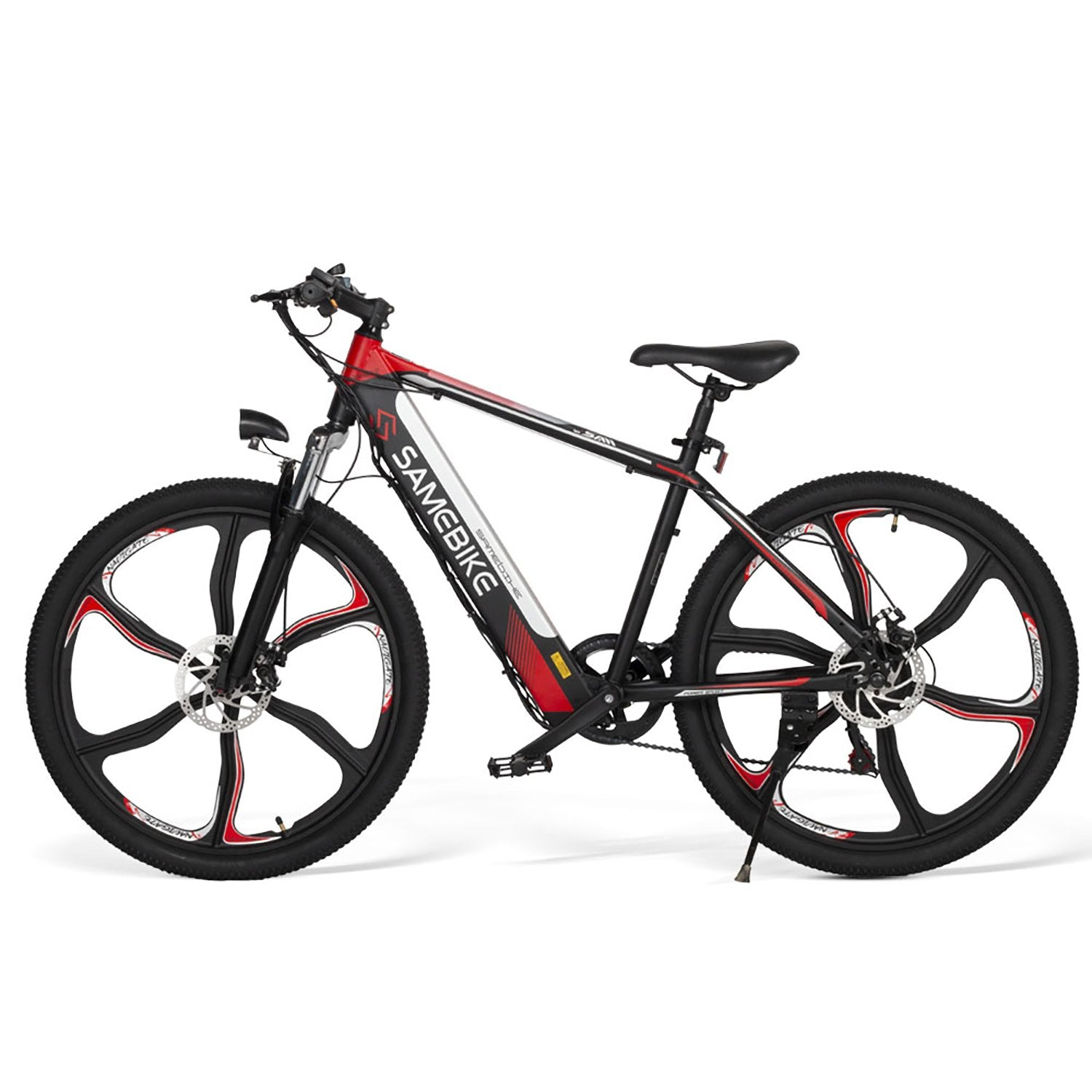 SAMEBIKE SH26 Electric Mountain Bike 26 Inch Tires 350W Motor 8Ah Battery Max 30 KPH