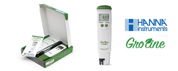 Setting up your Hanna Instruments pH/EC Combo Meter