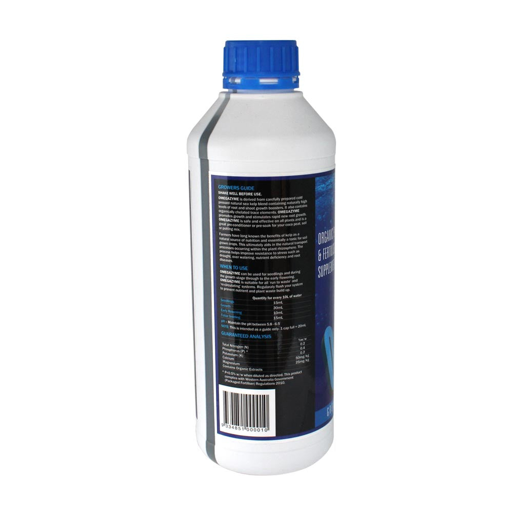 hy-gen omegazyme 1 litre
