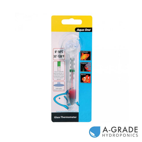 AQUA ONE - Glass Thermometer