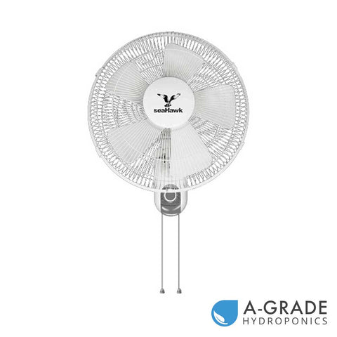 SeaHawk Wall Fan 400mm - 3 Speed Oscillating