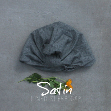 satin sleep cap for baby / infant