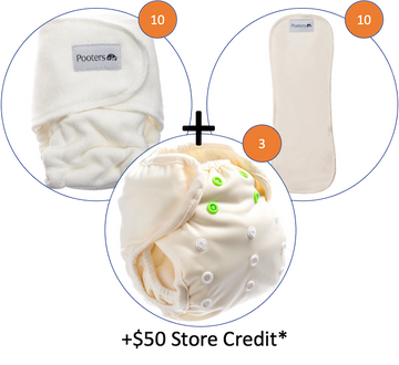 Starter Kit for Newborns (+$50 Credit)