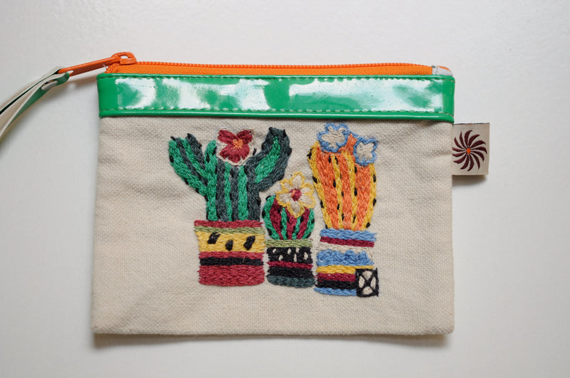 Image for Imbaba Cactus Genuine Leather Purse