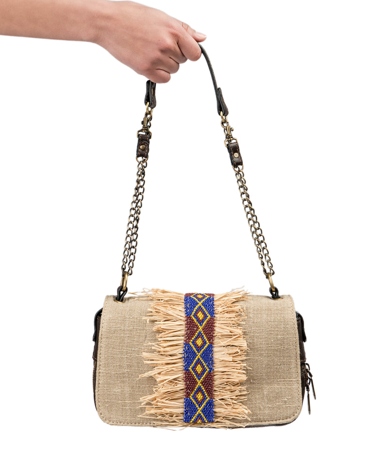 Cairo Handbag with Straw
