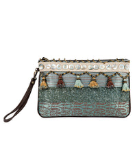 North Sinai Tasseled Purse