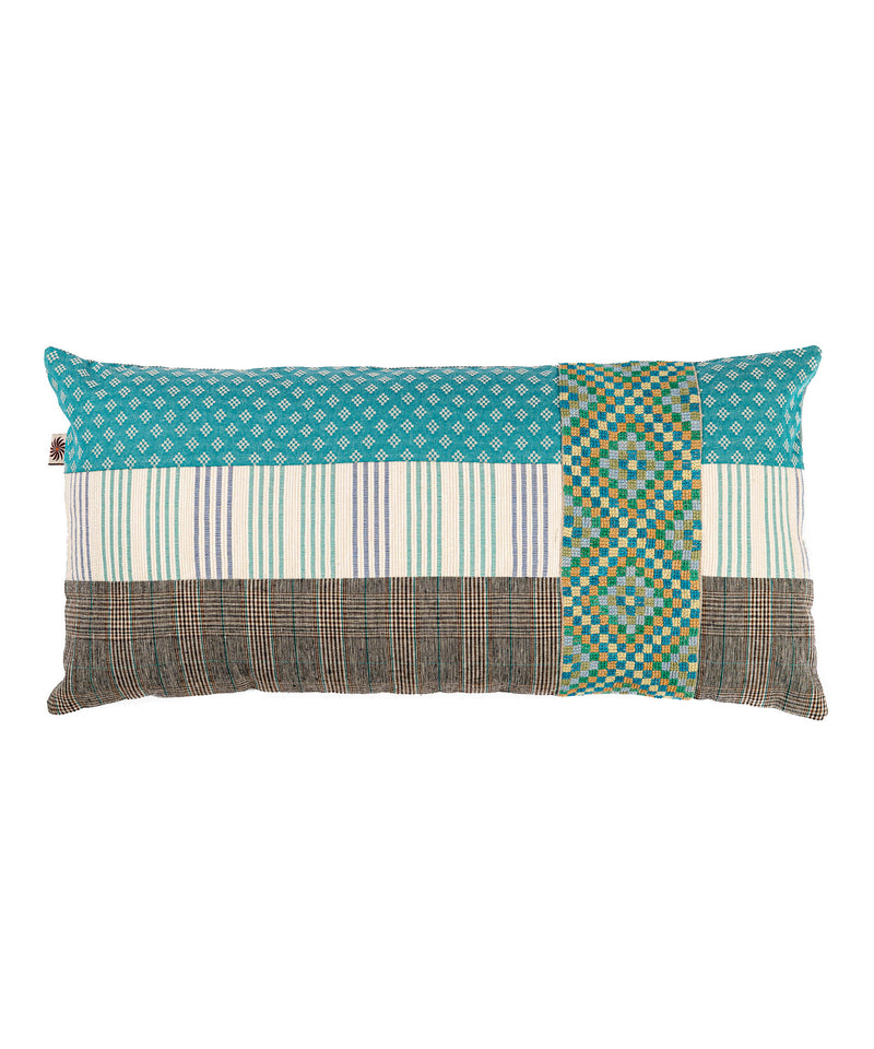 Wide Sinai Blue Pillow Case