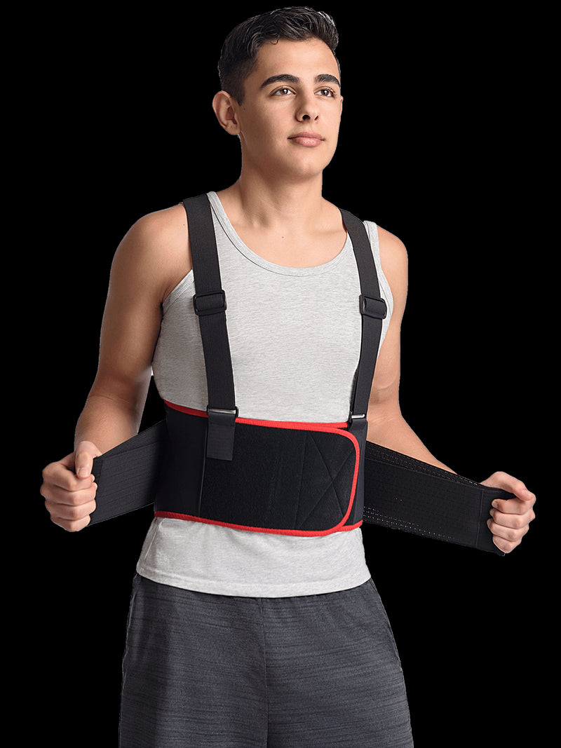 MAXAR Work Belt - Industrial Lumbo-Sacral Support (Deluxe)