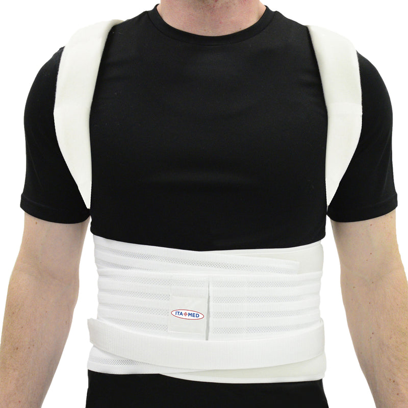 ITA-MED Posture Corrector for Men - Thoracic Lumbosacral Orthosis