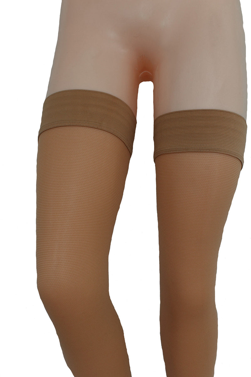 ITA-MED Thigh Highs (Open Toe) - Strong Compression 25-35 mmHg