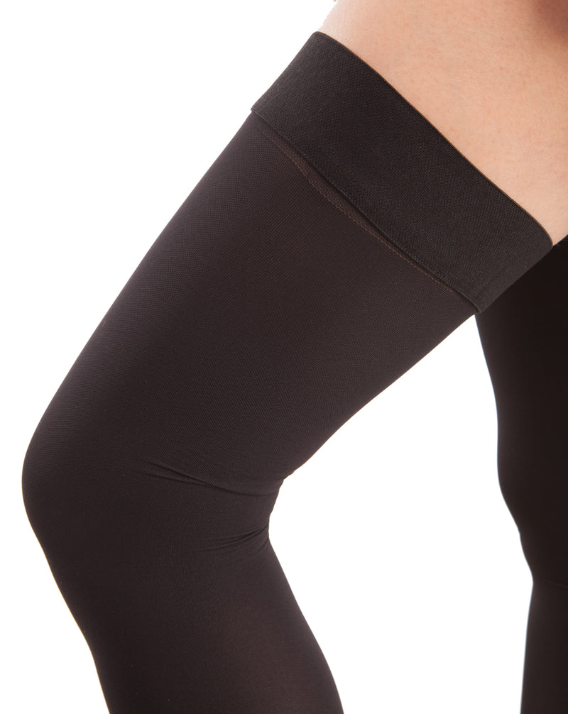 GABRIALLA Open Toe Thigh Highs - Extra Firm Compression (25-35 mmHg)