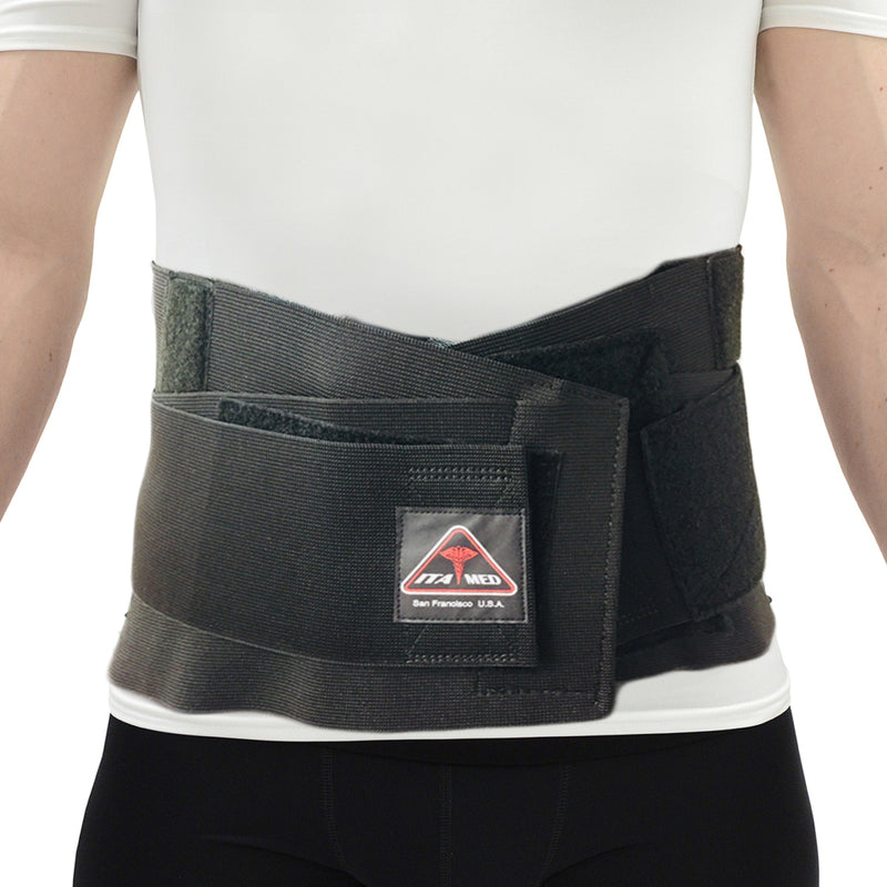 ITA-MED Elastic Duo-Adjustable Back Support Belt (w-out straps)