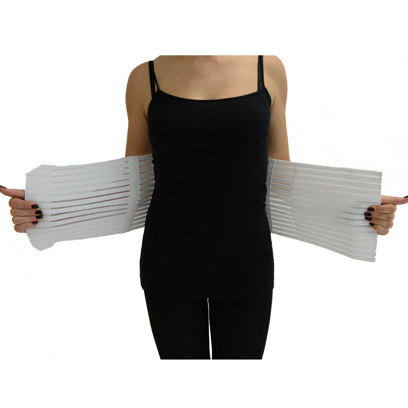 "ITA-MED Women's Breathable Abdominal Light Support Binder - 8"" Wide"