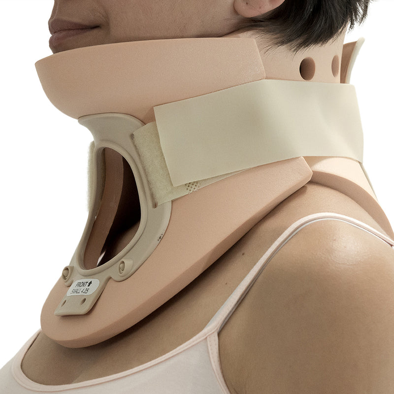 ITA-MED Extra Firm Cervical Collar with Tracheotomy Opening