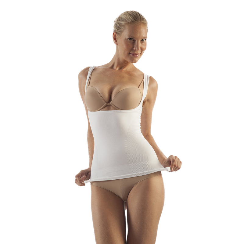 GABRIALLA  Body Shaping Support Vest -  Open Bust BSM-720
