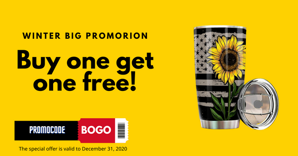 Buy One, Get One FREE - Buy one car seat cover get one tumbler