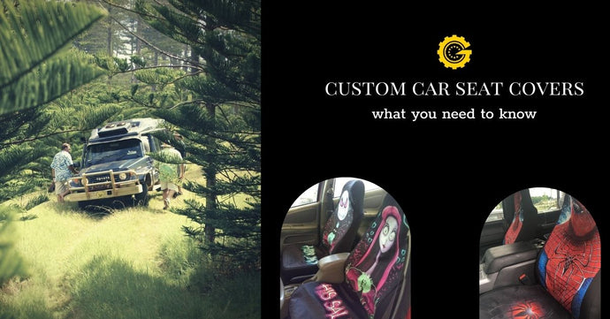 Custom Car Seat Covers what you need to know
