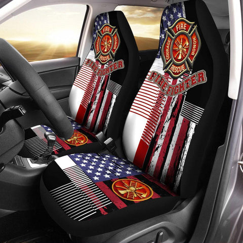 Firefighter Car Seat Cover car accessories