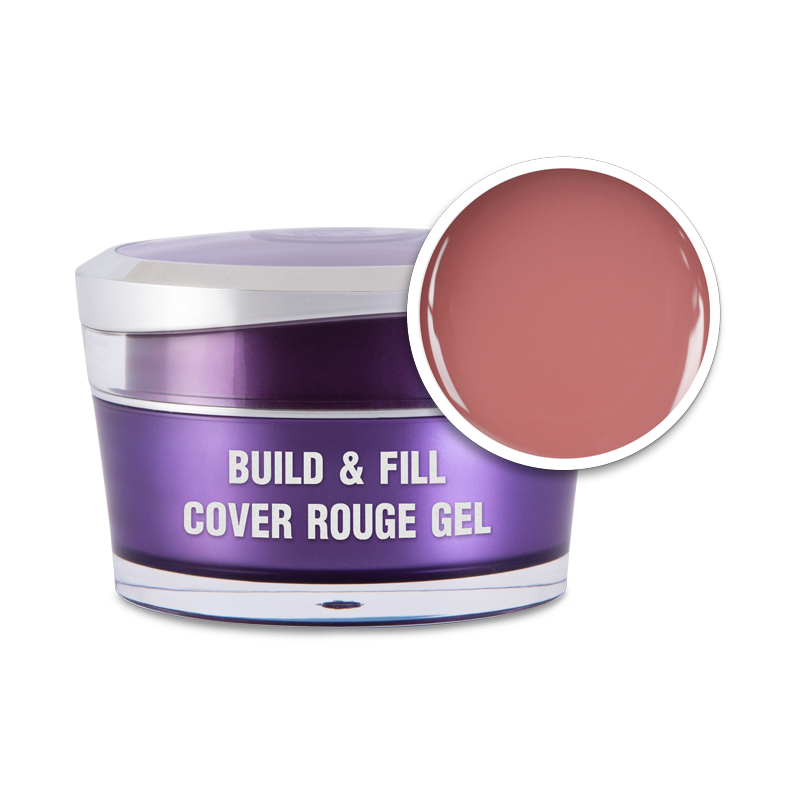 Build & Fill Cover Rouge Gel