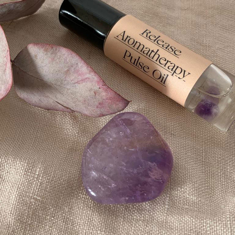 Amethyst & Palm Of Feronia Release Pulse Point Oil