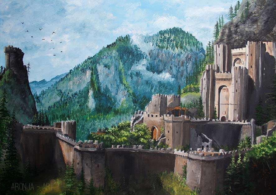 Witcher's Keep (Print)