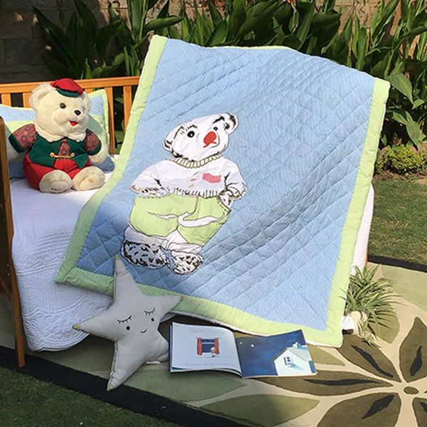 SMART TEDDY KIDS QUILT