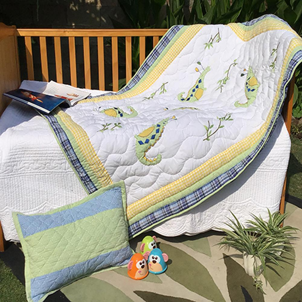 CROCODILE KIDS QUILT