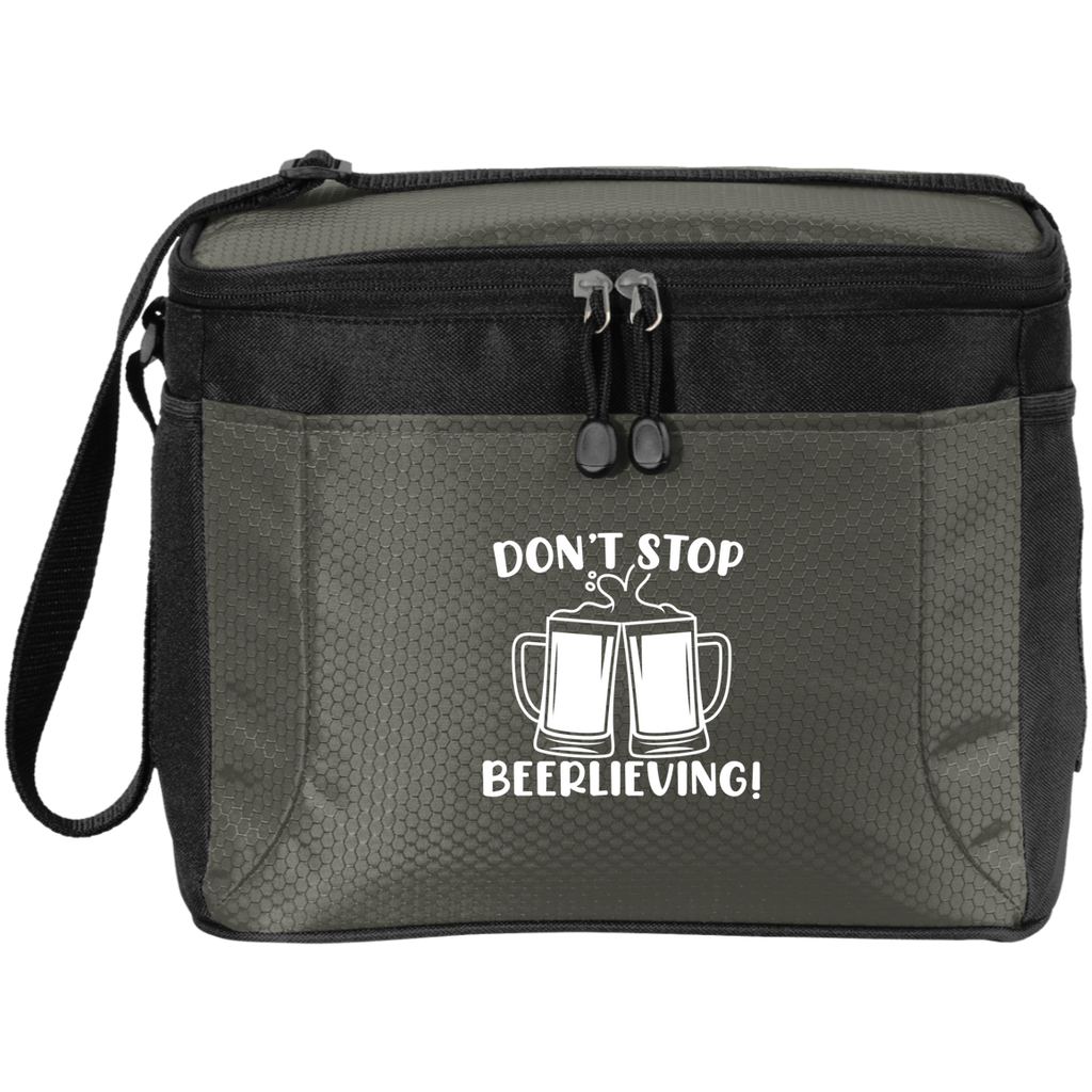 Don't Stop Beerlieving 12-Pack Cooler