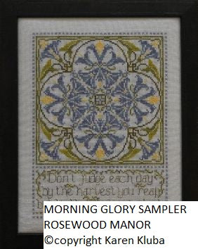 MORNING GLORY SAMPLER