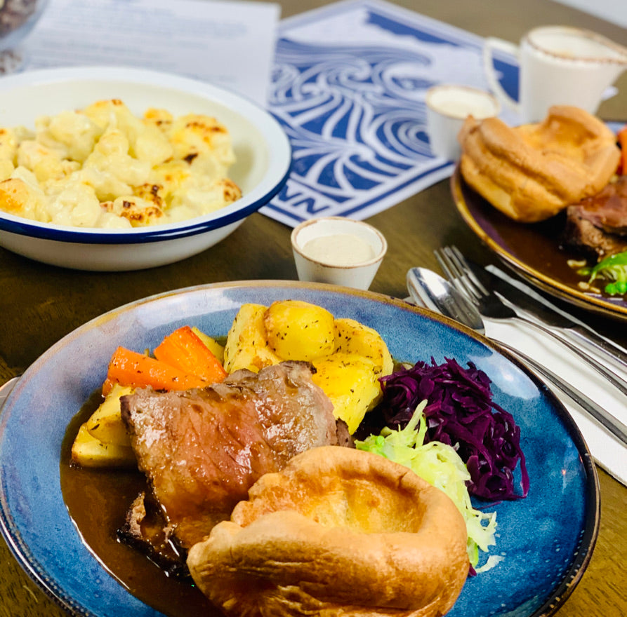 Sunday roast by post box (Serves 4)