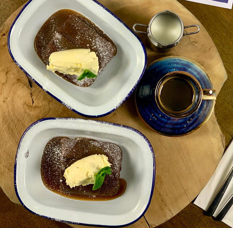 Sticky toffee pudding (serves 2)