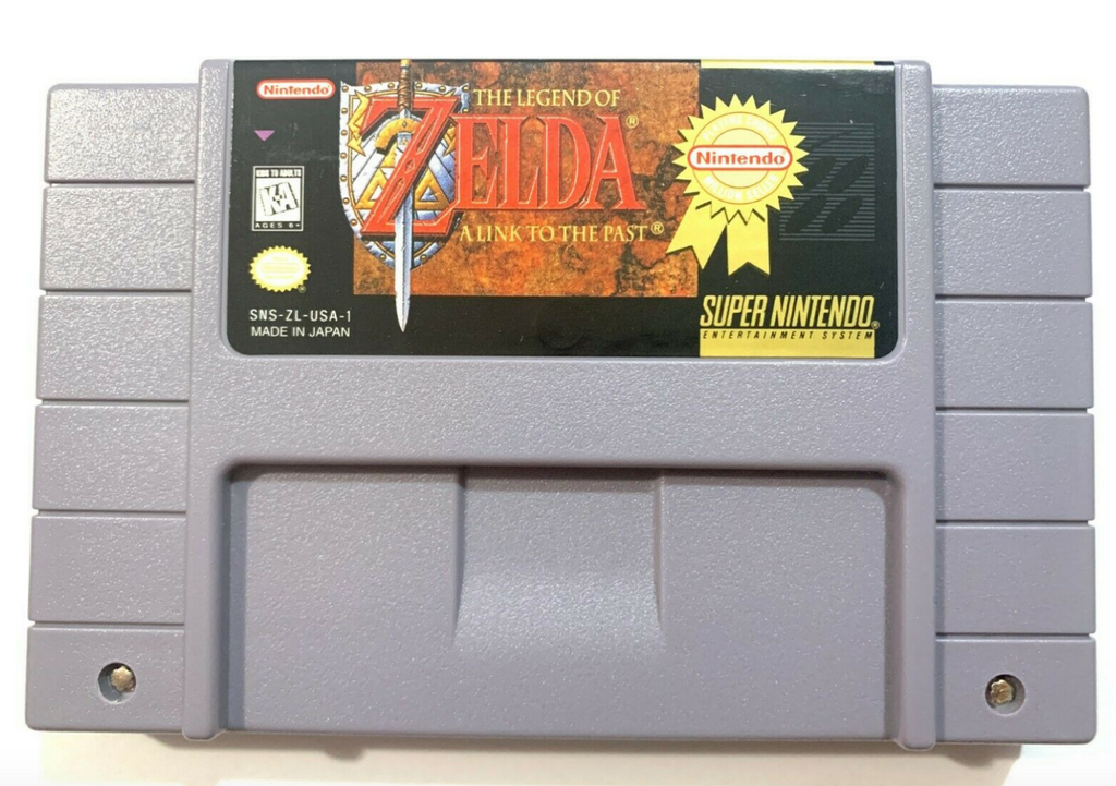The Legend of Zelda A Link to the Past Super Nintendo SNES Tested & Authentic!