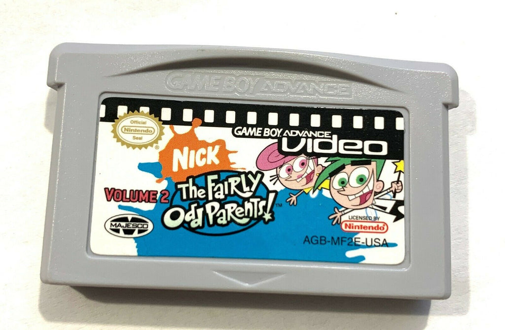 FAIRLY ODD PARENTS VOLUME 2 GBA Video Nintendo Gameboy Advance CLEANED TESTED !