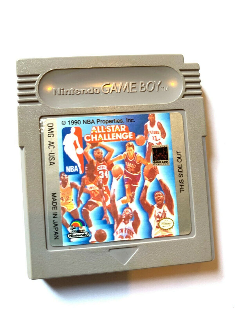 NBA All-Star Challenge Nintendo Original Game Boy *Cleaned & Tested*