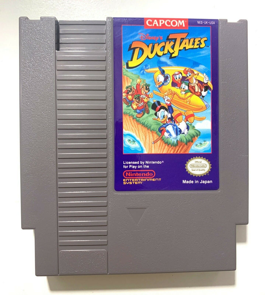 Duck Tales, Disney's - Original Nintendo NES Game Tested + Working & Authentic