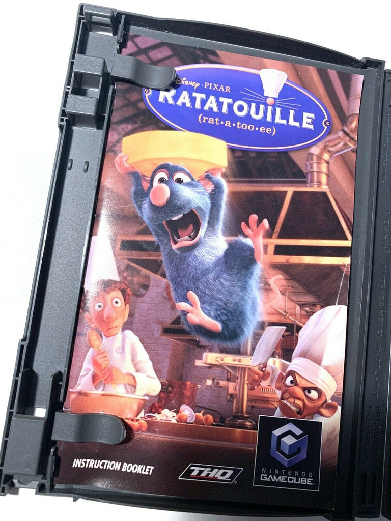Ratatouille Nintendo Gamecube Game Complete With Manual - Tested WORKING!
