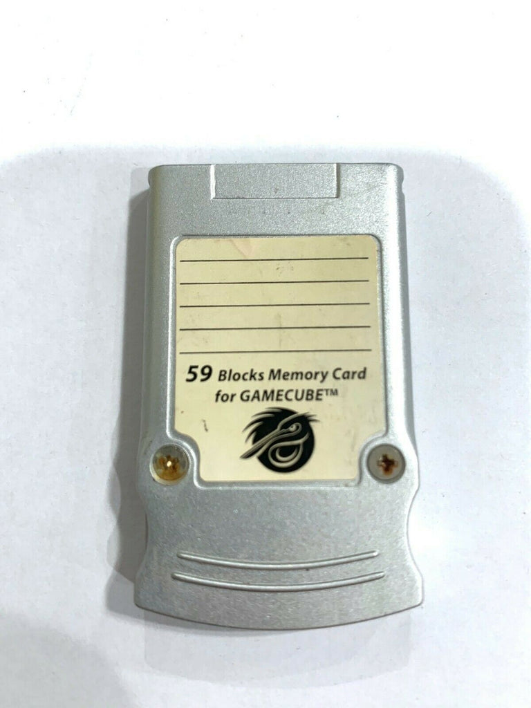 Memory Card For GameCube 59 Blocks Of Memory Made By Pelican Accessories