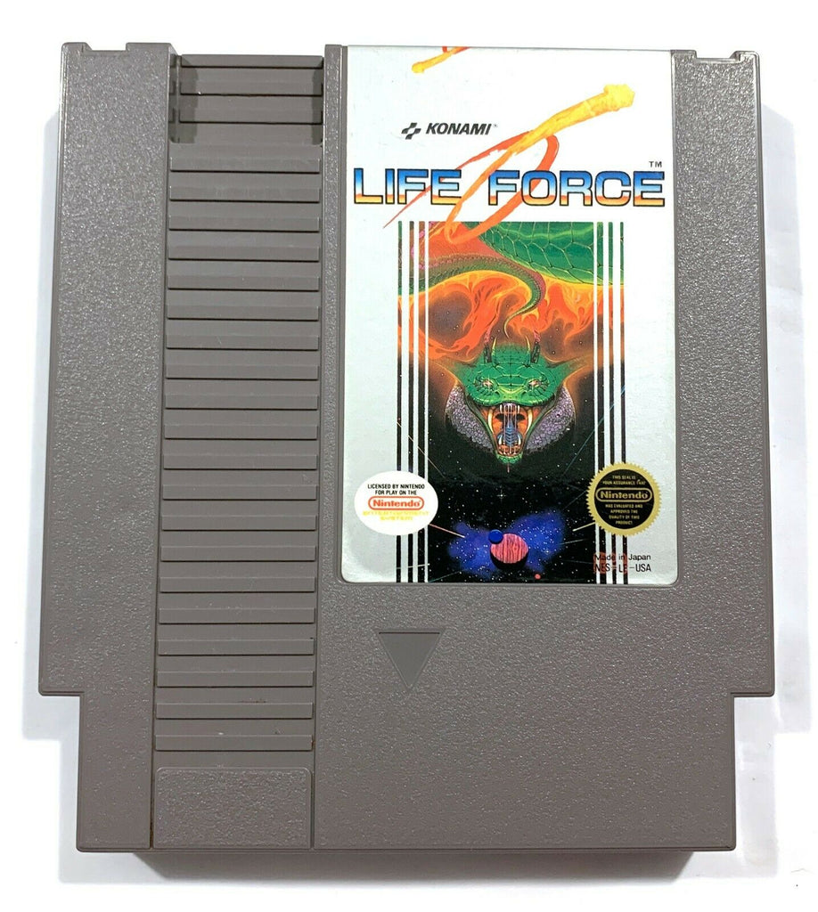 Life Force - Original Nintendo NES Game - Tested + Working & Authentic!