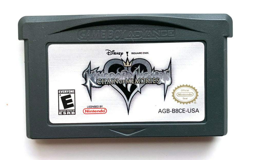 Kingdom Hearts Chain Of Memories Game Boy Advance GBA - Tested Working Authentic