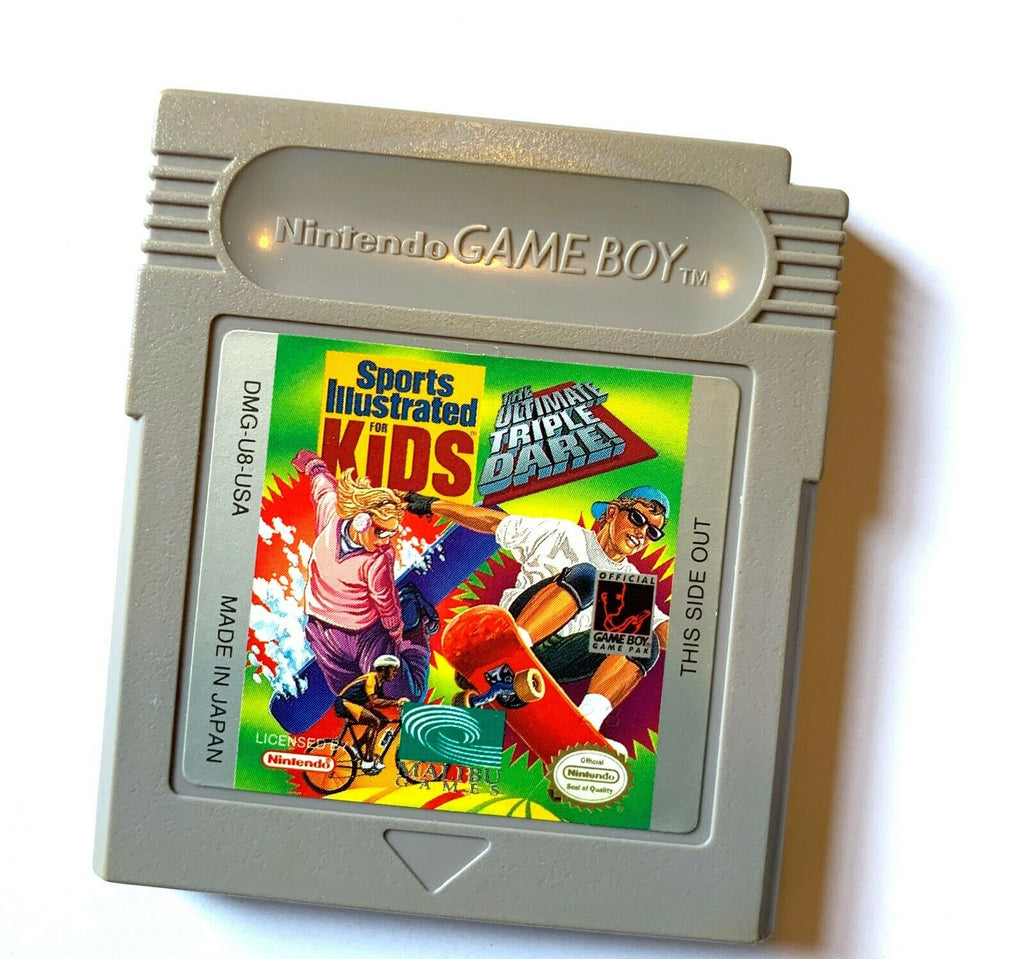 Sports Illustrated for Kids: The Ultimate Triple Dare ORIGINAL NINTENDO GAMEBOY