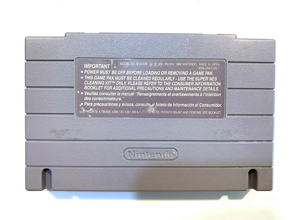Sea Quest DSV SUPER NINTENDO SNES Game - Tested + Working & Authentic!
