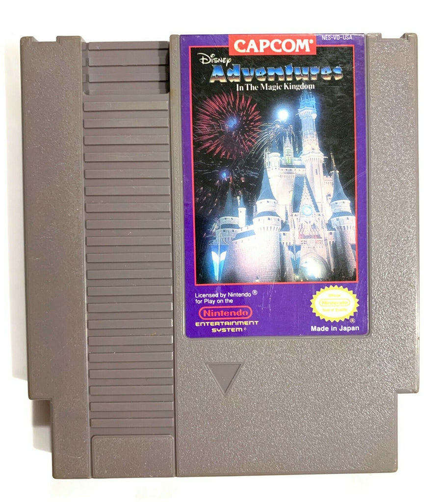 Disney Adventures In Magic Kingdom - NES Nintendo Game Tested + Working!