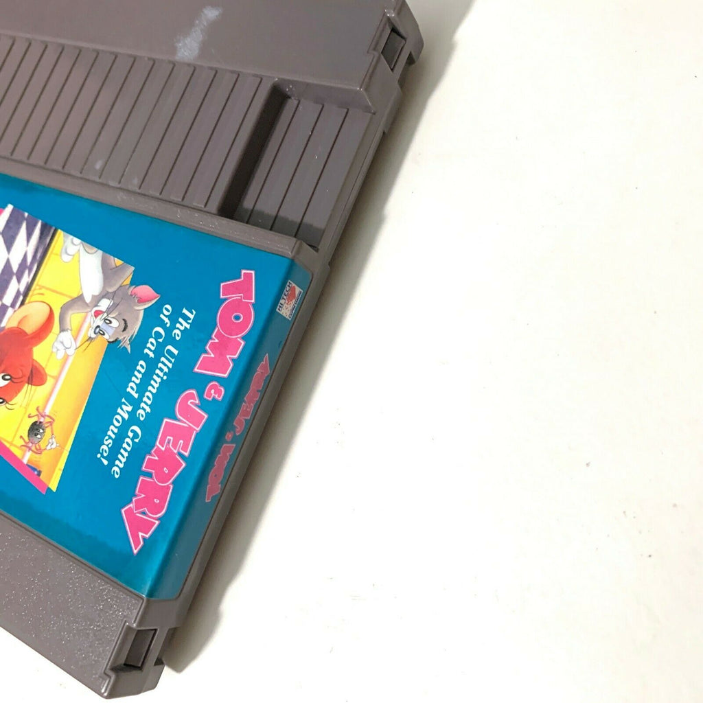 Tom & Jerry ORIGINAL NINTENDO NES GAME Tested WORKING Authentic!