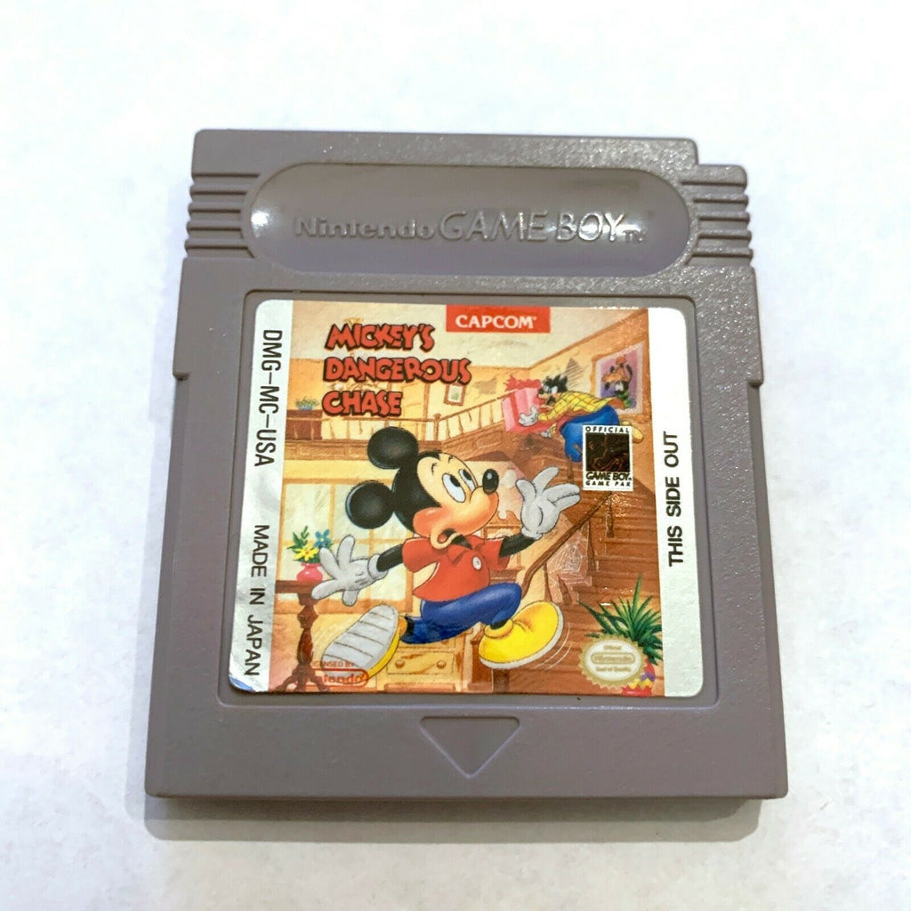 Mickey's Dangerous Chase ORIGINAL Nintendo Gameboy Game - Tested - Working!
