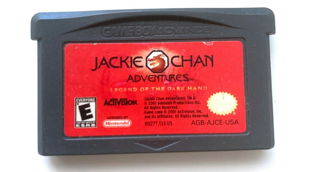 Jackie Chan Adventures Nintendo Gameboy Advance GBA Game TESTED + WORKING!