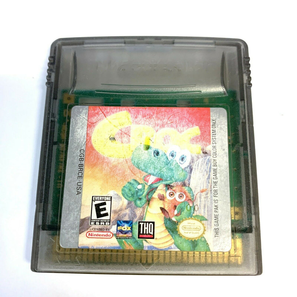 Croc NINTENDO GAMEBOY COLOR Original Authentic Game Tested WORKING!
