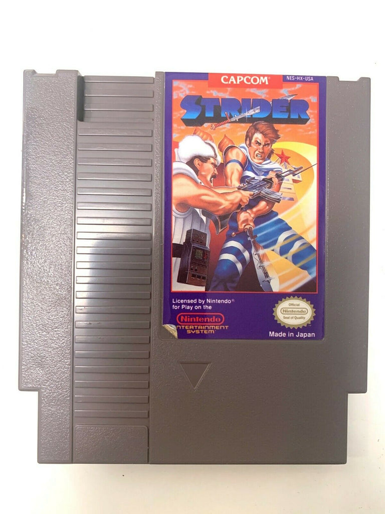 Strider ORIGINAL NINTENDO NES GAME CARTRIDGE Tested WORKING Authentic!