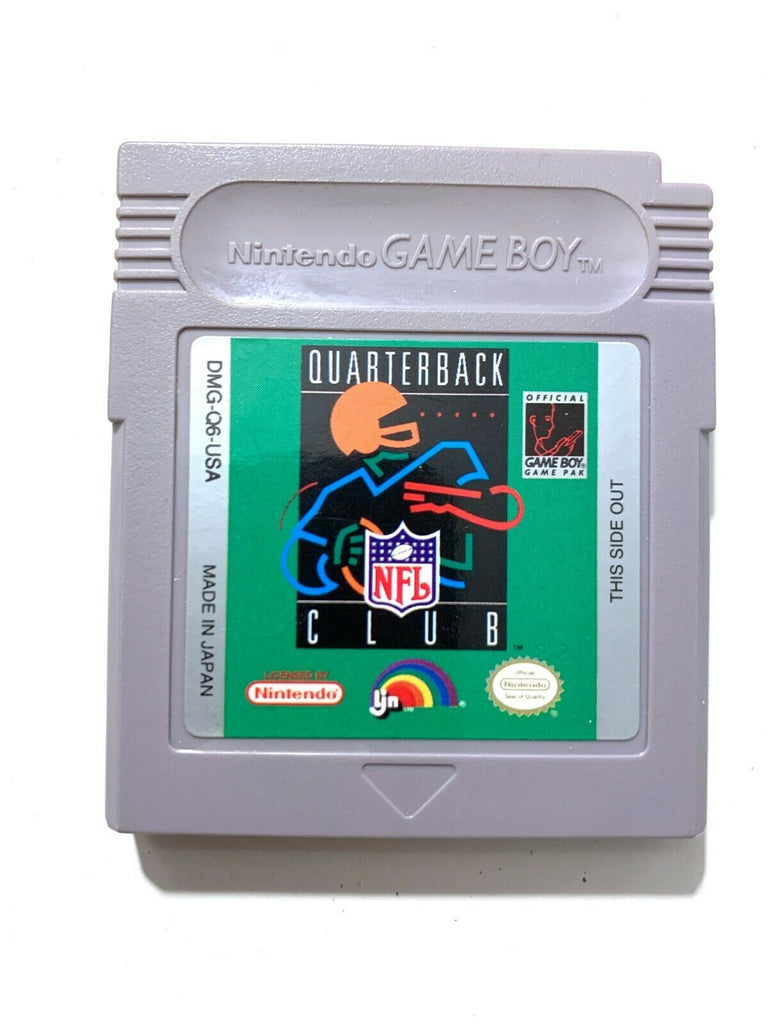 NFL Quarterback Club - Game Boy - Nintendo - Authentic Tested WORKING! VG!
