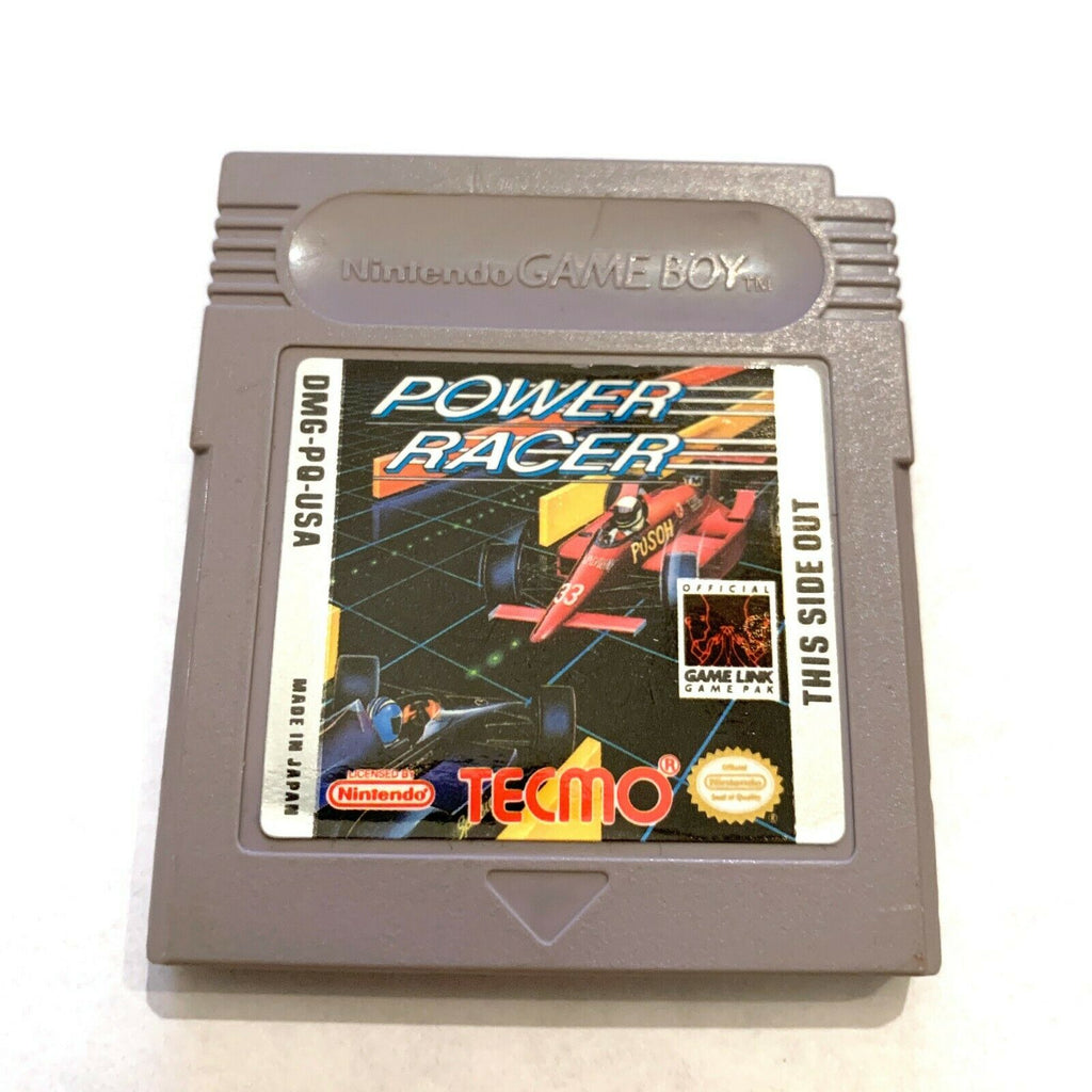 Power Racer ORIGINAL NINTENDO GAMEBOY GAME Tested WORKING Authentic!