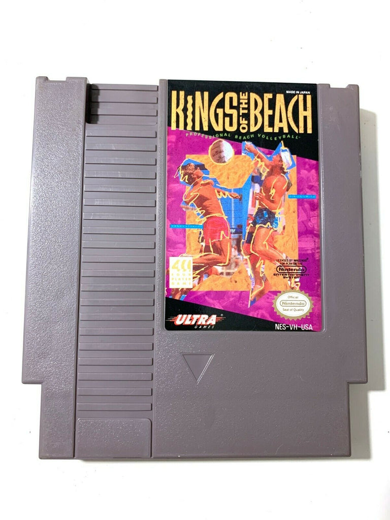 Kings of the Beach - Original Authentic Nintendo NES Game Tested + Working!